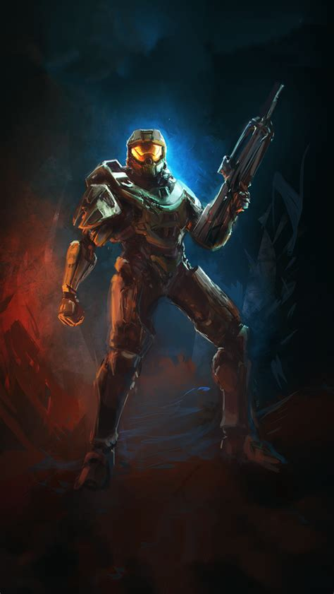 halo  soldier video game poster iphone  wallpaper hd