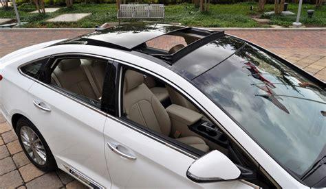 road test review  hyundai sonata interior focus  limited