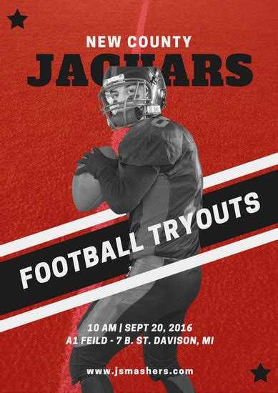 customize  sports poster templates  canva