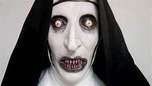 VALAK Deluxe Latex Mask The Conjuring 2 Scary!! - YouTube  Scary