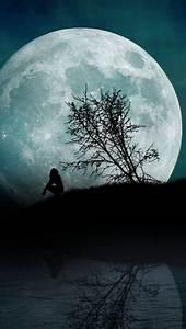Full, Moon, Wallpaper, For, Iphone, 7