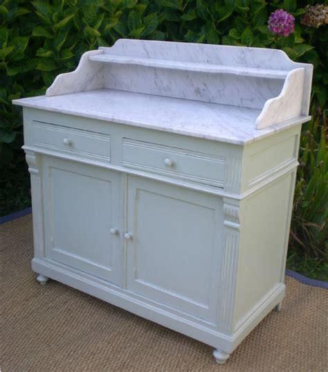 joli meuble d appui ancien meuble de toilette en bois peint