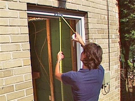 How To Install A Prehung Exterior Door  Howtos Diy