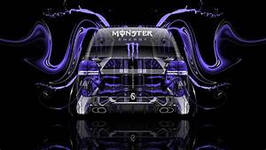 Monster Energy Toyota Land Cruiser Back Plastic Car 2014