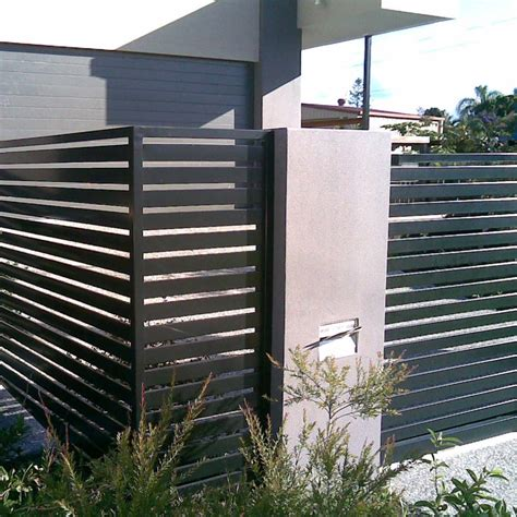 modern fence ideas   backyard  family handyman