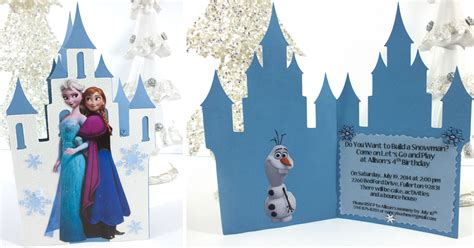 frozen birthday party invitations  sisters