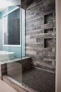 best tile for shower Best 25+ Wood tile shower ideas on Pinterest