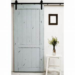 Dogberry country vintage 96 inch barn door ebay for 96 in barn door hardware