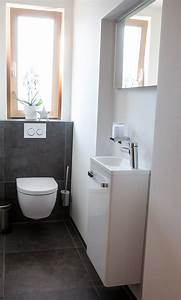 Möbel Gäste Wc : g ste wc waschbecken f r schmale toilette ~ Michelbontemps.com Haus und Dekorationen