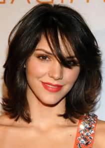 HD wallpapers easy hairstyles for medium length hair with side bangs