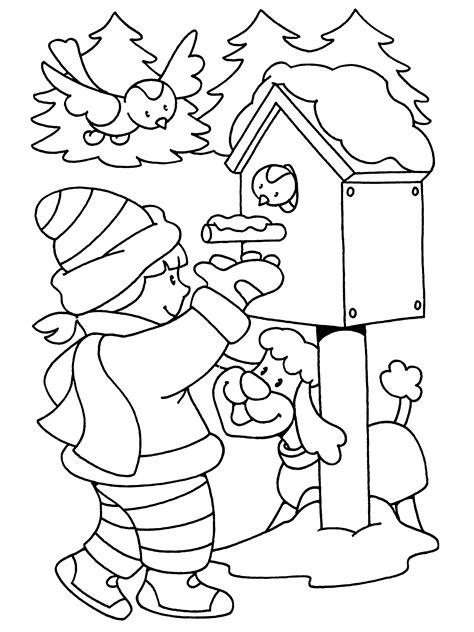 Kleurplaat Vogels In De Winter by Kleurplaat Vogels In De Winter Archidev Beste Kleurplaat
