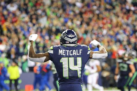 metcalf seahawks dk seattle fantasy football nfl receiver wr wide young catches position each breakout seattlepi genna martin version candidates