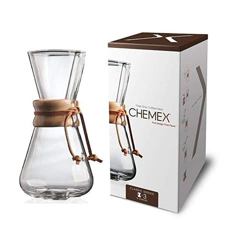 Ninja coffee bar brewer proved to be one of the best coffee machines on the market. Chemex Classic Series, Pour-over Glass Coffeemaker, 3-cup - Exclusive Packaging   Pour over ...
