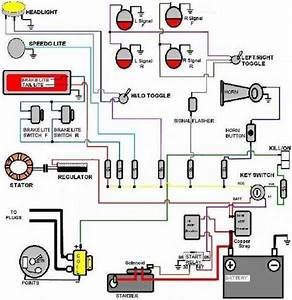 Bobber Motorcycle Wiring Diagram