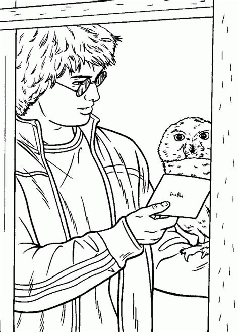 Harry Potter: Coloring Pages & Books 100% FREE and