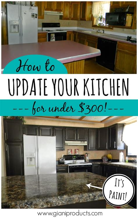 updating kitchen cabinets on a budget diy makeover old echopaul official blog kitchen updated