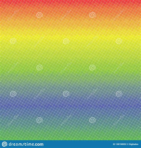 Gradient Spectrum Colors Minimalism Squares Vector