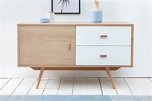 Sideboard Skandinavisches Design : stylisches echt eiche sideboard hygge 110cm skandinavisches design anrichte riess ~ Sanjose-hotels-ca.com Haus und Dekorationen