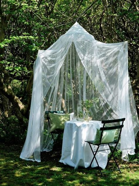 romantic outdoor canopies  tents   mosquito