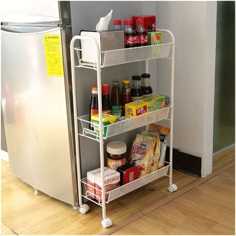 diy kitchen storage solutions how to the empty space around your fridge 6865