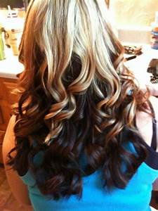 Hair Color Photos Blonde Top Brown Bottom HAIRSTYLE GALLERY