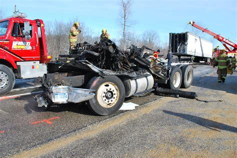 Semi Truck Driver Dies In I-94 Crash