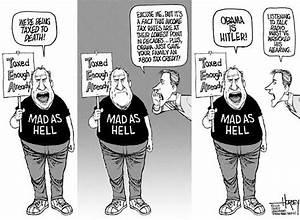 Political cartoons of the week: Tea party mania - Texas on ...