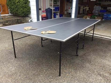 used ping pong table for sale ping pong table for sale west shore langford colwood
