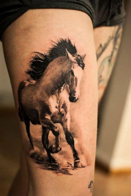 tatuagem de cavalo   representa  tattoos fabulosas
