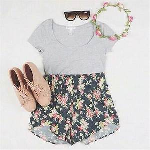 Floral-Shorts | Tumblr