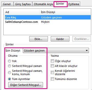 Office 365 Outlook Yedekleme by Outlook Takvimini Başkalarıyla Paylaşma Outlook