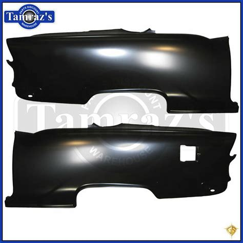 Chevy Door Hardtop Quarter Panel Trim Holes