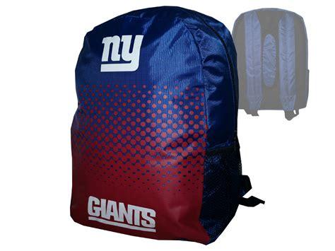 new yorker rucksack new york giants fan rucksack nfl