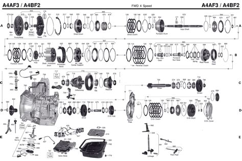transmission repair manuals aaf abf instructions