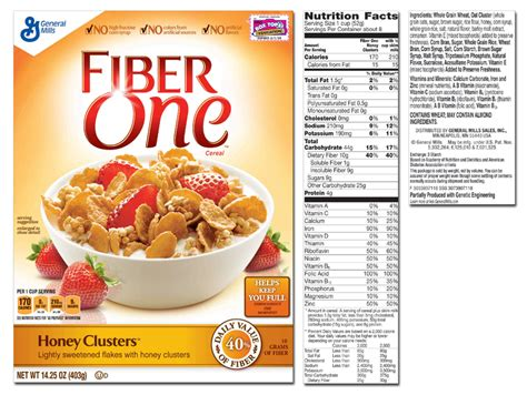 chocolate peanut butter protein fiber one product list