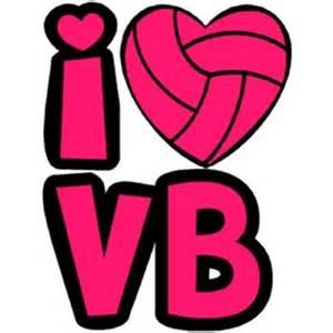 Volleyball Temporary Tattoos Heart
