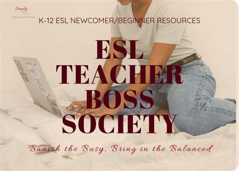 esl beginnernewcomer materials  coaching