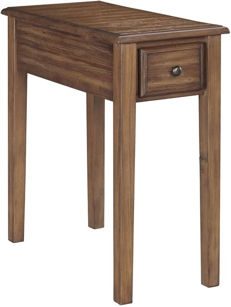 chair and end table warm brown chair side end table from ashley coleman