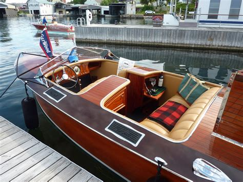 Wooden Runabout Boat Builders by Custom Runabouts Gar Wood Custom Boats