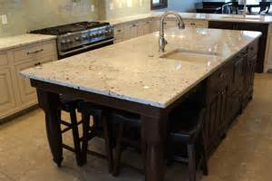 kitchen islands with granite tops