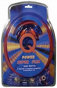 Qpower 4 Gauge Amp Kit Super Flex 4gampkitsflex   Click On