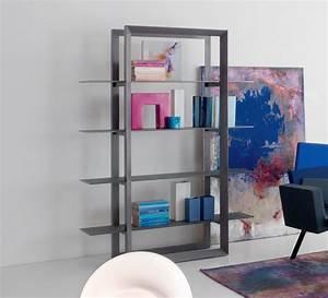 Bibliothèque En Verre : upper biblioth que en bois et verre idd ~ Teatrodelosmanantiales.com Idées de Décoration
