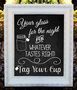 wedding table number ideas your glass for the for whatever tastes right tag