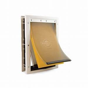 Petsafe extreme weather pet door small for Dog door flap material