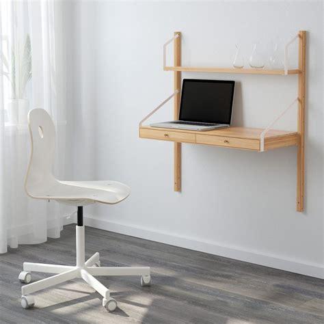 petit bureau ikea petit bureau gain de place 25 modèles pour votre