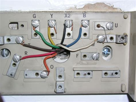 Wiring Diagram For Weathertron Thermostat by Replacing Thermostat