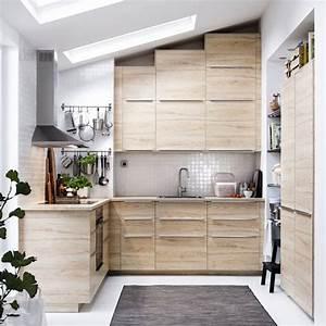Meuble Cuisine Bois Naturel : cuisine bois moderne 20 mod les c t maison ~ Melissatoandfro.com Idées de Décoration