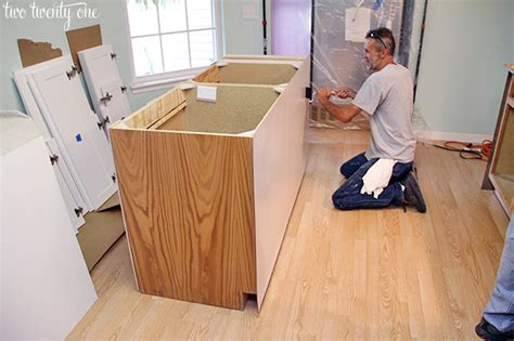 kitchen cabinet refacing makeover  homeowners experience