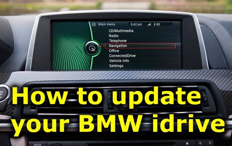 update bmw idrive software youtube
