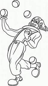 Clown Malabarista Coloring Disegni Pagliacci Colorare Coloriage Pianetabambini Juggler Payaso Colorier Jongleur Jongleurs Ausmalbilder Zum Dibujoswiki Dibujos Articolo Printable Drawing sketch template